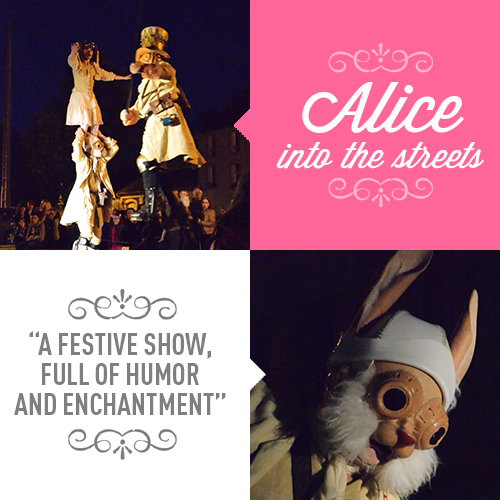 Alice into the streets